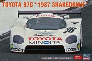 Hasegawa 20500 Toyota 87C 1987 Shakedown 1/24