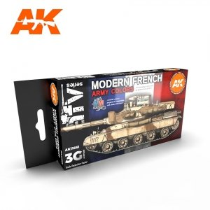 AK Interactive AK 11661 MODERN FRENCH ARMY COLORS 6x17 ml