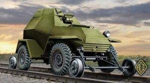 ACE 72264 Soviet Ba-64 V/G (Railroad versions) (1:72)