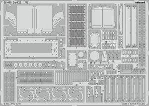 Eduard 36409 Su-122 1/35 TAMIYA