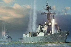 Hobby Boss 83413 USS Momsen DDG-92 1/700