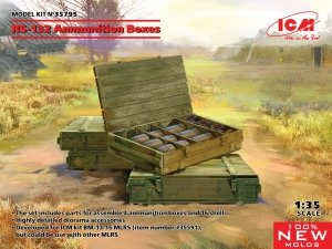 ICM 35795 RS-132 Ammunition Boxes 1/35