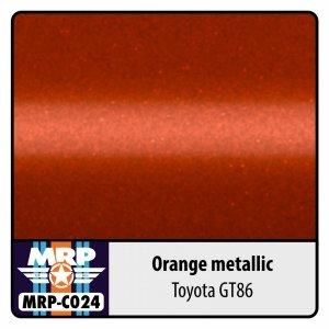 Mr. Paint MRP-C024 Orange metallic for Toyota GT86 30ml