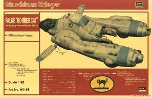 Hasegawa 64119 Falke Antigravity Armored Raider Pkf.85 Bomber Ca 1/20
