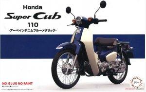 Fujimi 141794 Honda Super Cub 110 (Urbane Denim Blue Metallic) 1/12