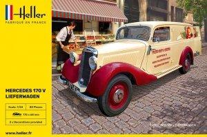 Heller 80736 MB 170 Lieferwagen 1/24