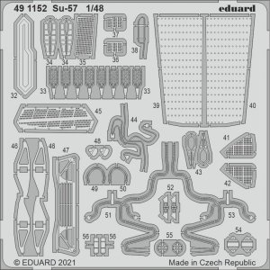 Eduard 491152 Su-57 for ZVEZDA 1/48