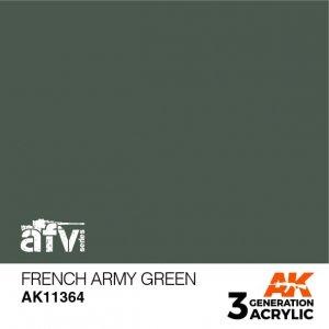 AK-Interactive AK 11364 French Army Green 17ml
