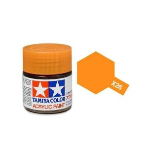 Tamiya 81026 Acryl X-26 Clear Orange 23ml
