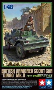 Tamiya 32581 British Armored Scout Car Dingo Mk.II (1:48)