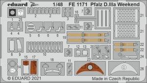 Eduard FE1171 Pfalz D.IIIa Weekend EDUARD 1/48