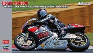 "Hasegawa 21719 Honda NSR500 ""1989 All Japan Road Race Championship GP500 SEED RACING"" (1:12)"