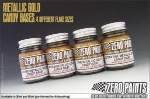 Zero Paints 4015 Fine Metallic Gold Groundcoat Candy 60ML