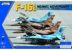 Kinetic K48004 F-16A/B NSWAC AGRESSOR (1:48)