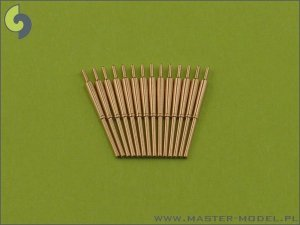 Master SM-400-002 British 4in/45 (10.2 cm) QF HA Marks XVI barrels (14pcs)