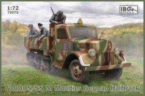 IBG 72073 V3000S/SS M Maultier German Halftrack 1/72