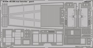 Eduard 48636 B-24D rear interior REVELL/MONOGRAM (1:48)