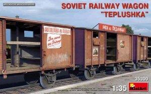 "MiniArt 35300 SOVIET RAILWAY WAGON ""TEPLUSHKA"" 1/35"