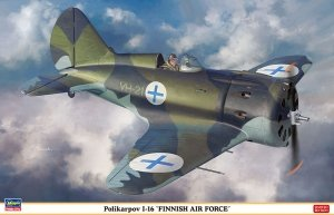 Hasegawa 08254 Polikarpov I-16 Finnish Air Force 1/32