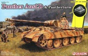Dragon 6940 Sd.Kfz.171 Panther Ausf.D & Pantherturm 1/35