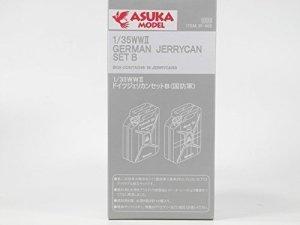 ASUKA (TASCA) 35002 WWII German Jerrycan set B 1:35