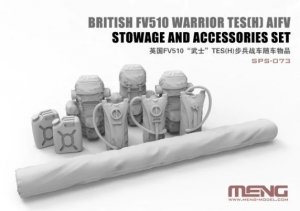 Meng Model SPS-073 British FV510 Warrior TES[H] AIFV Stowage & Accessories Set 1/35