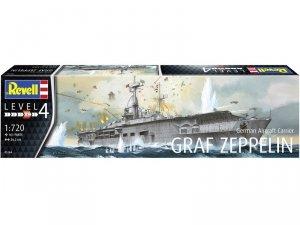Revell 05164 German Aircraft Carrier GRAF ZEPPELIN 1/720