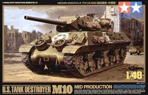 Tamiya 32519 M10 US Tank Destroyer (1:48)
