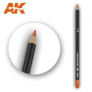 AK Interactive AK 10014 Watercolor Pencil STRONG OCHER