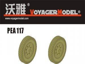 Voyager Model PEA117 WWII German Sd.Kfz.251/Sd.Kfz.11 Road Wheels Pattern 1 1/35