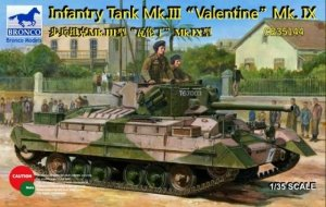 Bronco CB35144 Infantry Tank Mk.III Valentine Mk.IX