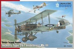 Special Hobby 72400 Vickers Vildebeest Mk. III 1/72