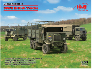 ICM DS3511  WWII British Trucks 1/35