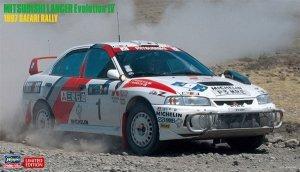 Hasegawa 20395 Mitsubishi Lancer Evolution IV 1997 Safari Rally 1/24