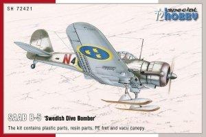 Special Hobby 72421 SAAB B-5 'Swedish Dive Bomber' 1/72