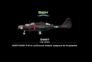 Great Wall Hobby S4807 Northrop P-61A w/Ground Attack weapons Droptanks 1/48