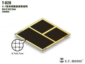 E.T. Model T-020 Net 0.7x0.7mm ( siatka )