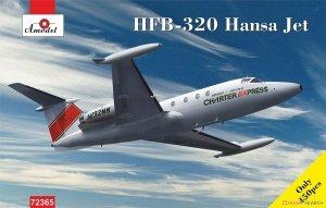 A-Model 72365 HFB-320 Hansa Jet Charter Express 1:72