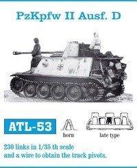 Friulmodel 1:35 ATL-53 PzKpfw II Ausf. D