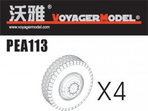 Voyager Model PEA113 Road Wheels for Sd.Kfz.234 Pattern 4 (For DRAGON) 1/35
