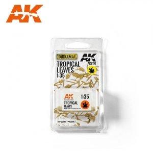 AK Interactive AK 8110  Tropical Leaves (TOP QUALITY) 1/35