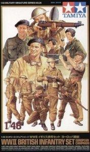 Tamiya 32526 British Infantry Set (1:48)