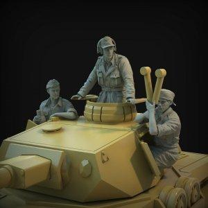Panzer Art FI35-137 DAK turret set (Pz III & Pz IV tanks) 1/35