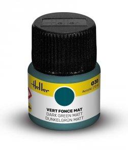 Heller 9030 030 Dark Green - Matt 12ml