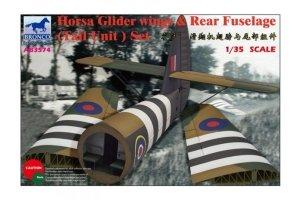 Bronco AB3574 Horsa Glider Wing Rear Fuselage 1/35