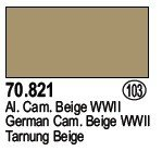 Vallejo 70821 German Cam. Beige WWII (103)