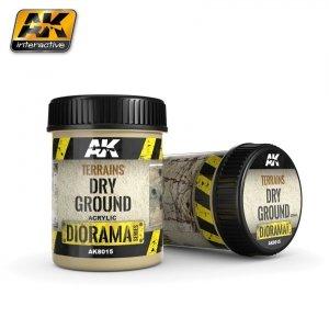 AK Interactive AK 8015 Terrains Dry Ground 250ML