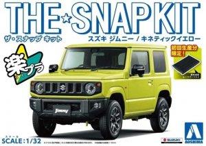 Aoshima 05776 The Snap Kit Suzuki Jimny / Kinetic Yellow 1/32