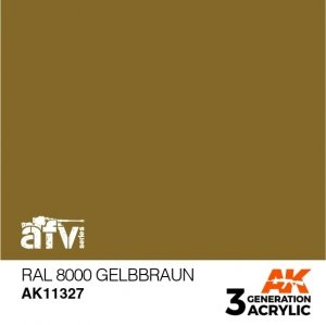 AK-Interactive AK 11327 RAL 8000 Gelbbraun 17ml