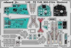 Eduard FE1149 MiG-21bis Weekend for EDUARD 1/48